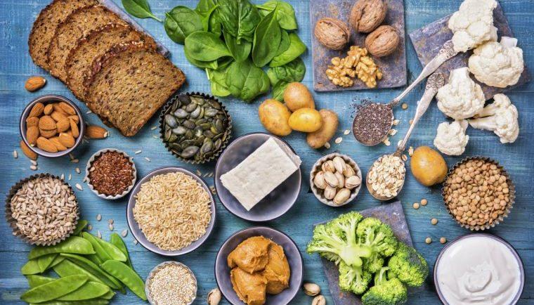 eiweißreiche vegetarische Lebensmittel