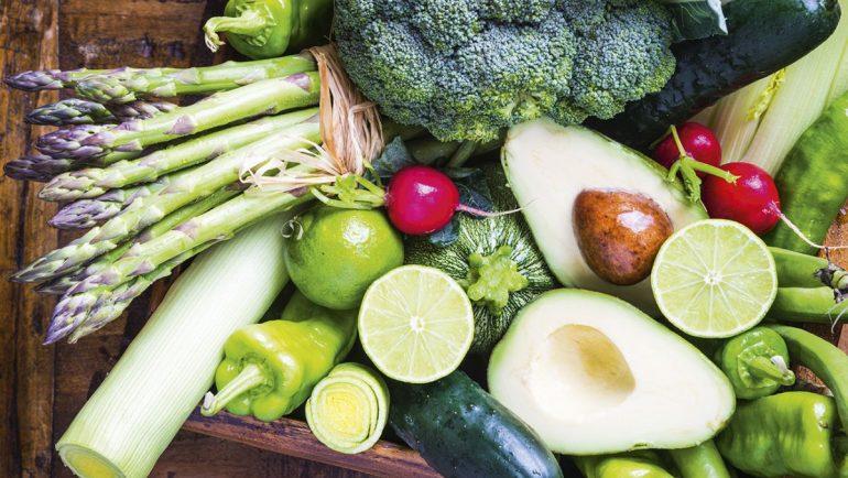 Gesunde Lebensmittel im Aramark Foodboost-Programm