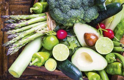 natürliche frische Lebensmittel